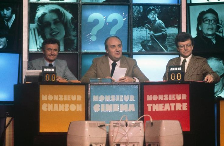 monsieur cinéma pierre tchernia | Jacque Rouland, Pierre Tchernia et José Artur, en 1977 (photo INA)