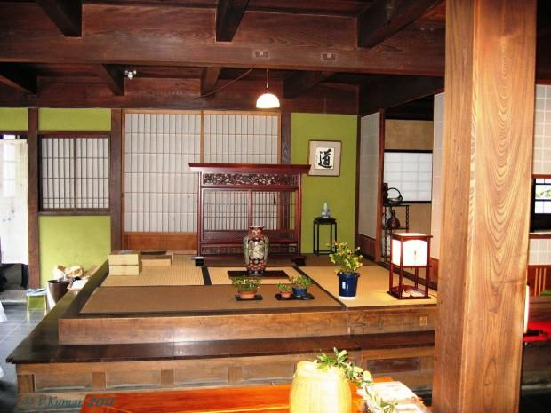 Inside View of a Traditional Japanese House;