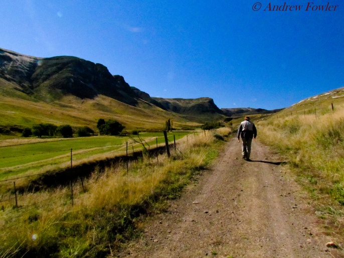 The walk in: fly-fishing in the North Eastern Cape