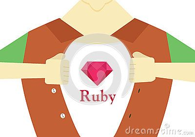 Ruby Hero Flat Design.Advanced Ruby Programming Conceptual Illustration. - Download From Over 42 Million High Quality Stock Photos, Images, Vectors. Sign up for FREE today. Image: 57547435
