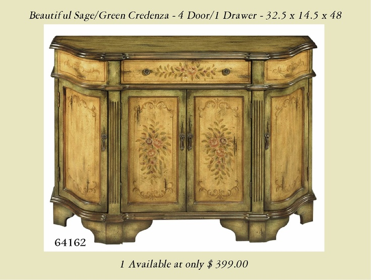 Large Foyer Chest : Sage green large bombay chest hand painted entry hall