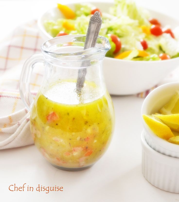 Italian salad dressing. If you have never tried an Italian salad dressing, it is a beautiful balance between the tang of vinegar, the zing of garlic and green onions, the earthy tones of herbs , the smooky red pepper and the hint of sweetness from the honey