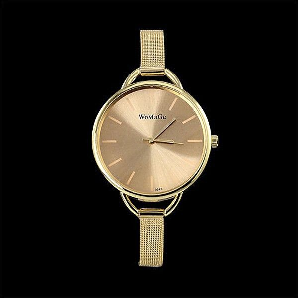 hot sale luxury brand watch women fashion gold watches stainless steel quartz-watch ladies watch hour montre femme reloj mujer