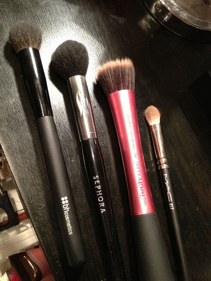 Best brushes for contouring & highlighting