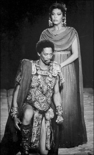 gloria foster - Google Search ( The other person in this picture is a very young Morgan Freeman. )