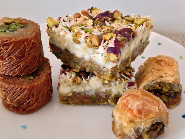 Arabic Sweets (aka Baklava) Magic Bars