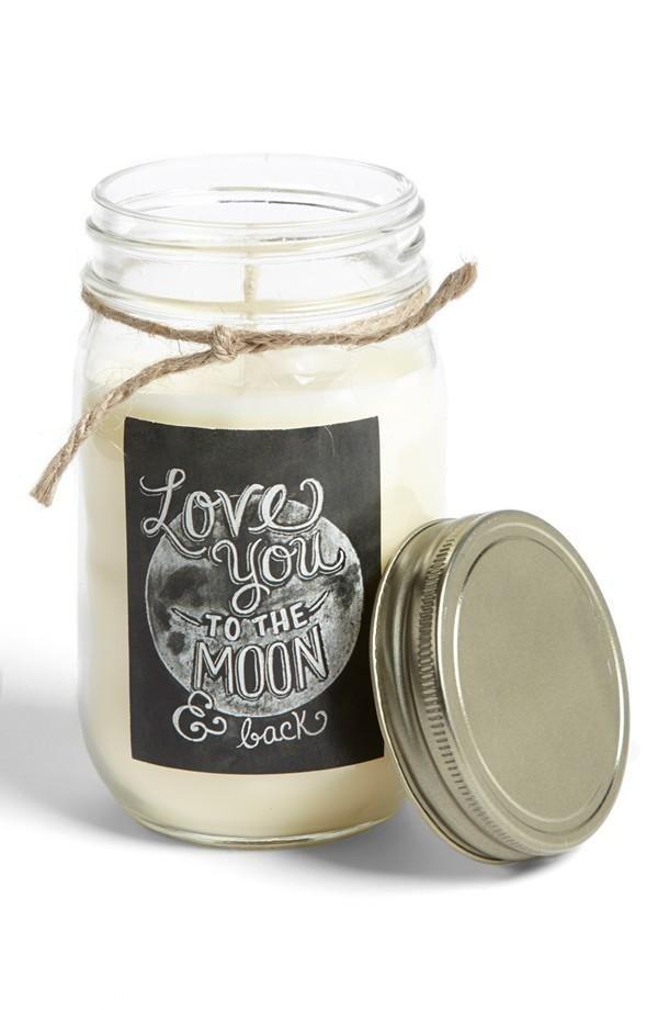 <3 Mason Jar Candle