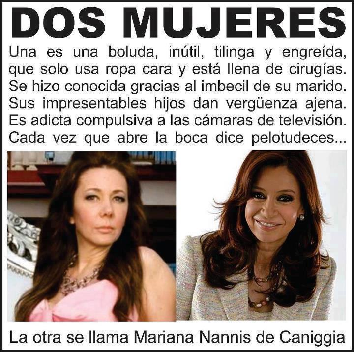 .Cristina Kirchner