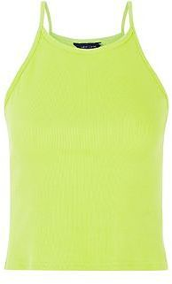 Womens lime cami from New Look - £4.99 at ClothingByColour.com