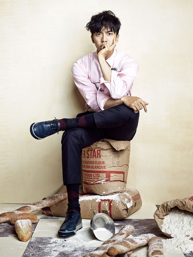 Lee Seung Gi In CéCi's October 2013 Issue