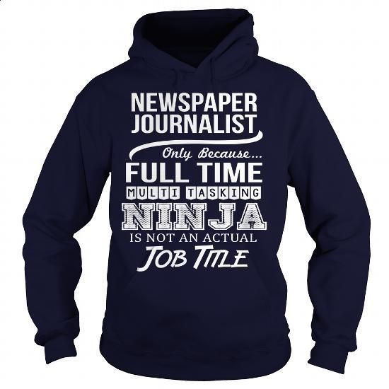 Awesome Tee For Newspaper Journalist - #novelty t shirts #vintage tee shirts…