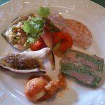 アラペサ - Aランチの小さな前菜 La Pesa Moderna アラペサ 電話番号:043-237-3100  住所:千葉県千葉市若葉区御成台3-1168-14