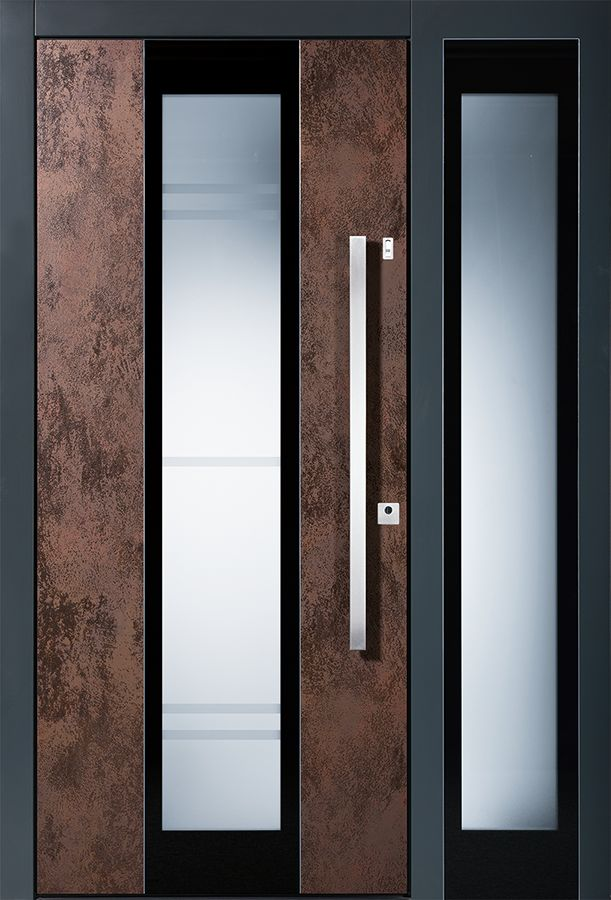 Haustüren modern grau mit seitenteil  33 besten Haustür Eingang Bilder auf Pinterest | Haustür eingang ...