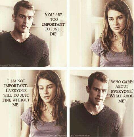Divergent // Book Quote                                                                                                                                                                                 More