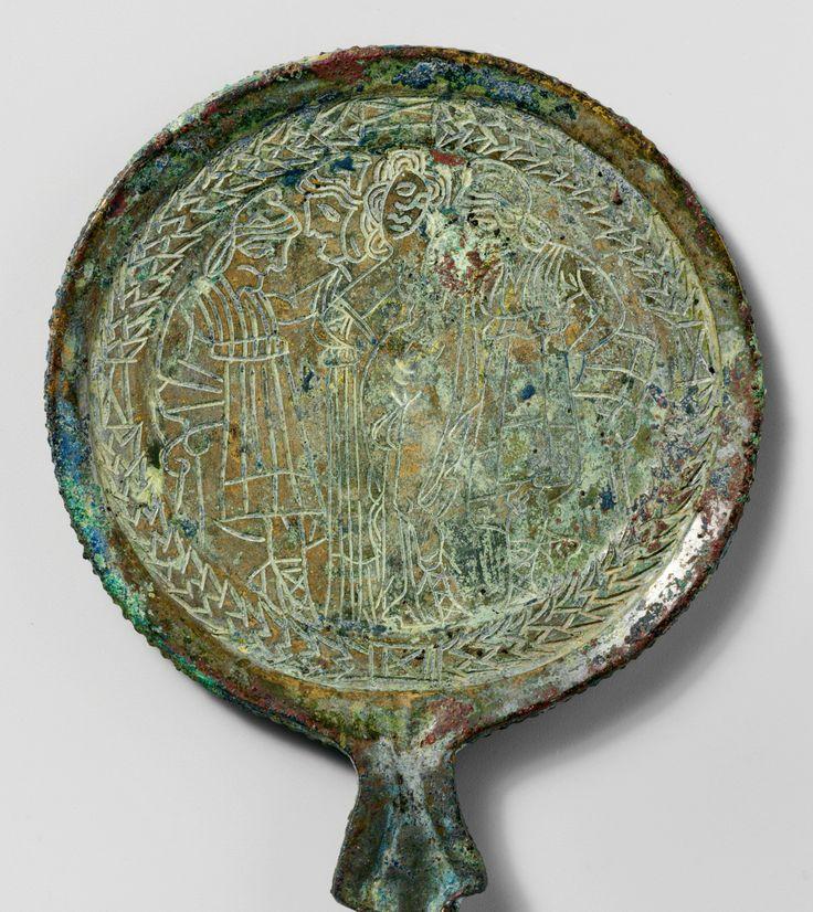 The Metropolitan Museum of Art Bronze mirror Period: Hellenistic Date: 3rd–2nd century B.C. Culture: Etruscan