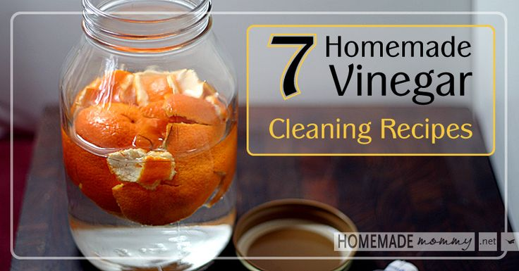 7 Homemade Vinegar Cleaning Recipes