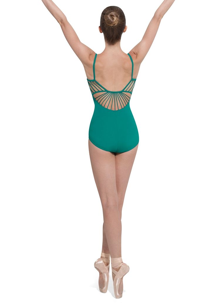 Bloch Cameliia Rouleaux Back Camisole Leotard / Bloch