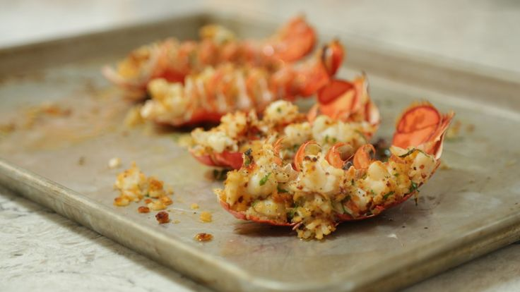 Baked Stuffed Maine Lobster Tails | Maine Lobster Marketing Collaborative