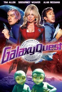 Galaxy Quest - This is my painting movie.  It's light hearted and funny.  It makes the trekkie in me smile :)