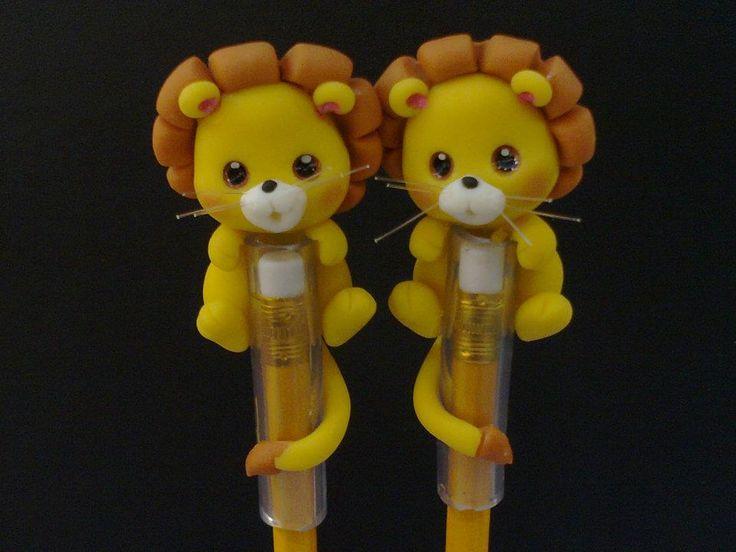 Leãozinho lápis