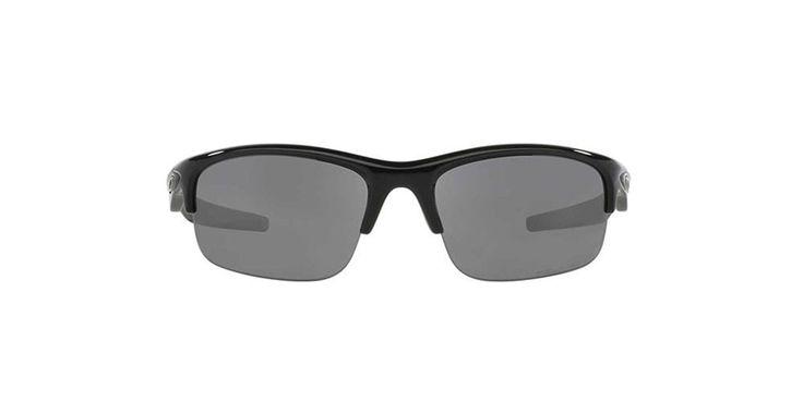 Oakley Bottle Rocket Men's Polarized Active Sports Sunglasses/Eyewear - Polished Black/Black Iridium / One Size Fits All