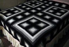 Interesting use of granny squares