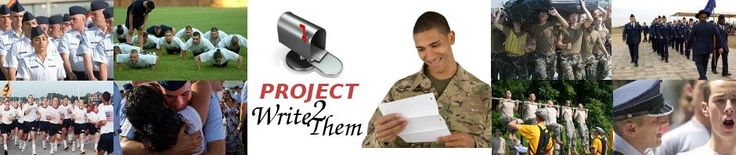 Eight Great Ideas When Writing Letters to Recruits at Basic Training | Project Write2Them...We turn email into letters from home
