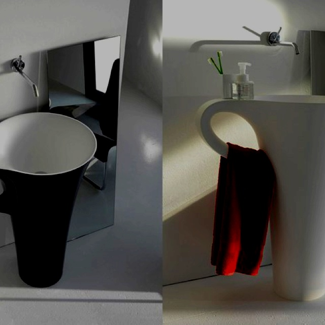 Bathroom idea- very cool sink!