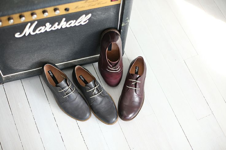 ::: LEROY ::: men's classy derby shoe. Available in five colours and in canvas and leather. $149.95 http://www.urgefootwear.com.au/mens-shoes-online/leroy-charcoal-leather
