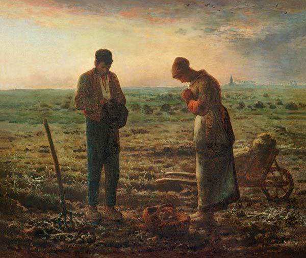 Jean-François Millet - Abendgebet