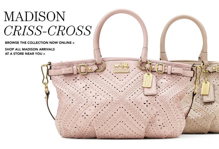 Coach - Madison Criss-Cross