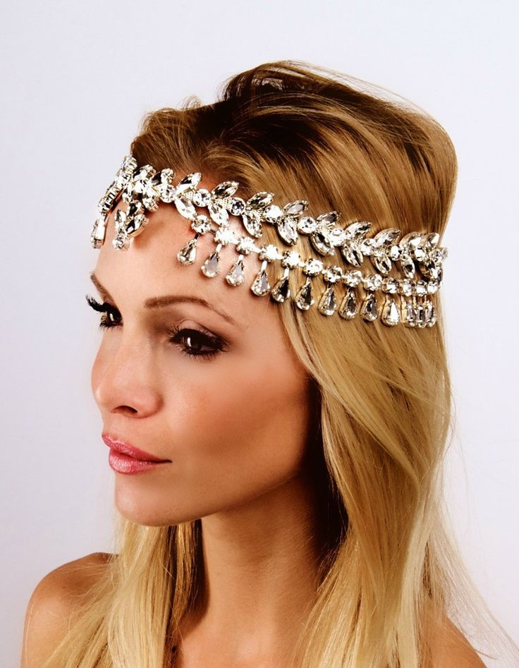 1000+ images about (Bridal) headbands on Pinterest ...