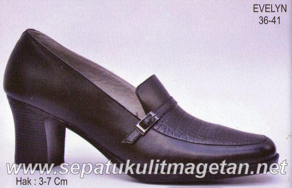 Sepatu Kulit Asli Wanita CJ Evelyn