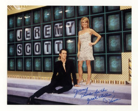 American Splendor - Jeremy Scott with Vanna White