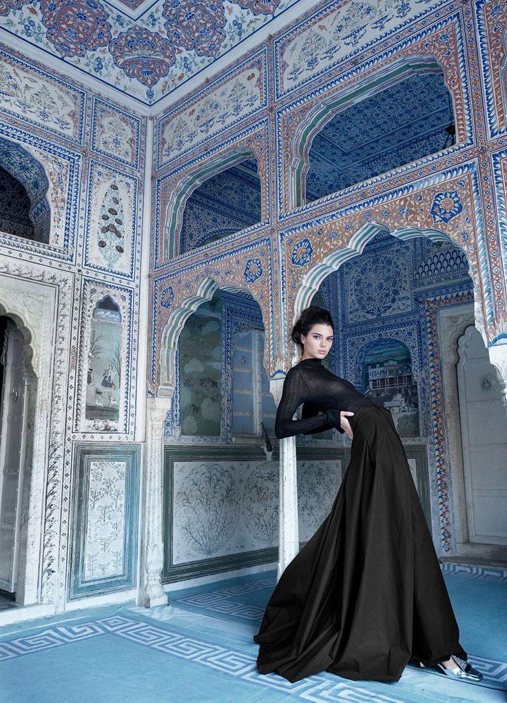 latest Vogue India May 2017 Kendall Jenner par Mario Testino