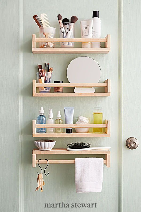 21 Dorm Room Storage Ideas That Make The Most Of Your Small Space In 2020 Diy Bathroom Storage Small Bathroom Decor Ikea Spice Rack