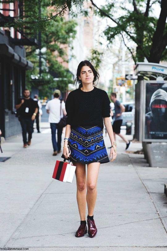 Короткие юбки: как правильно носить мини