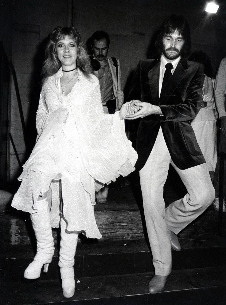 Stevie Nicks with hubby, Kim Anderson (m. 1983-1984 ...