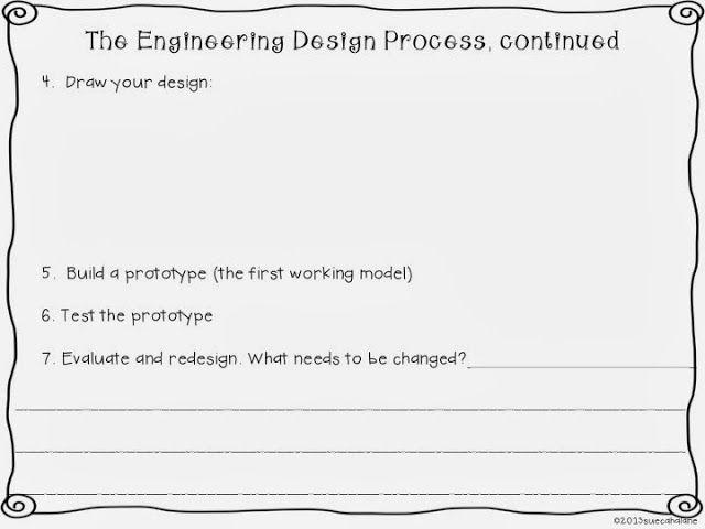 engineering design process worksheet elementary. Black Bedroom Furniture Sets. Home Design Ideas