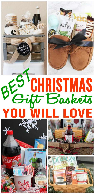 BEST Christmas Gift Baskets! Easy DIY Christmas Gift Basket