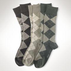 Argyle Sock 3-Pack - Big & Tall Big & Tall - RalphLauren.com
