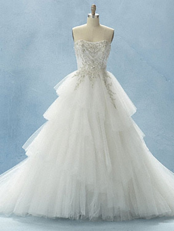 Trending Alfred Angelo Disney Fairy tale Bridal collection Style called the Cinderella Platinum