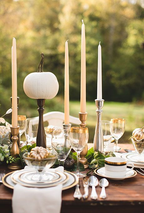 Best fall table settings centerpieces images on