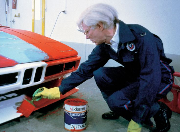 andy warhol | BMW Auto Art - Andy Warhol - BMW M1