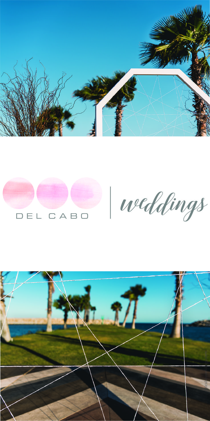 Beautiful and modern geometric shapes in Cabo! Del Cabo Weddings will make your wedding come true in the gorgeous sea side. Get ideas, décor tips and more in our website! Click on this image and visit our blog!