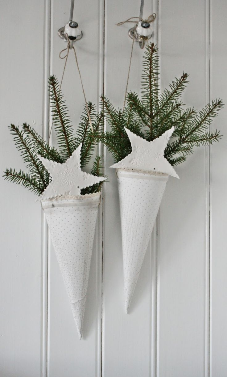 i am loving white christmas this year. I would add glitter to these.(because I am also loving glitter).