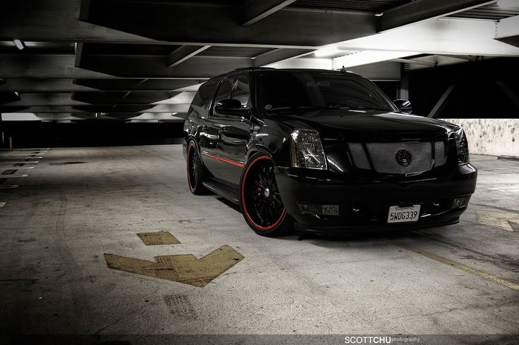 murdered out escalade | blacked out windows blacked out ...