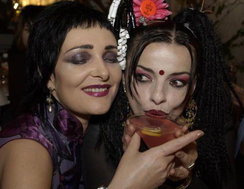 Siouxsie Sioux and Nina Hagen.......August 9, 2002