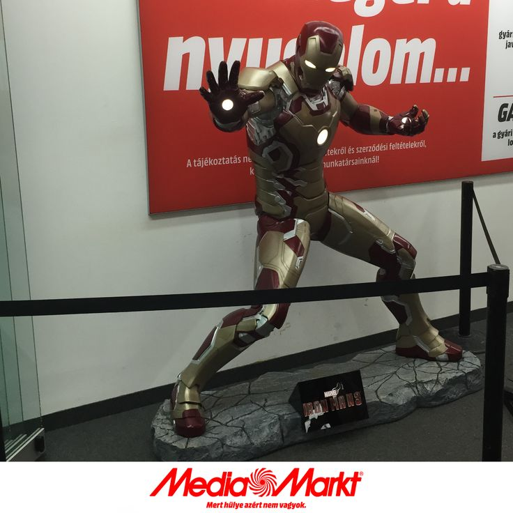 Iron Man, a Mammut Media Markt őre.