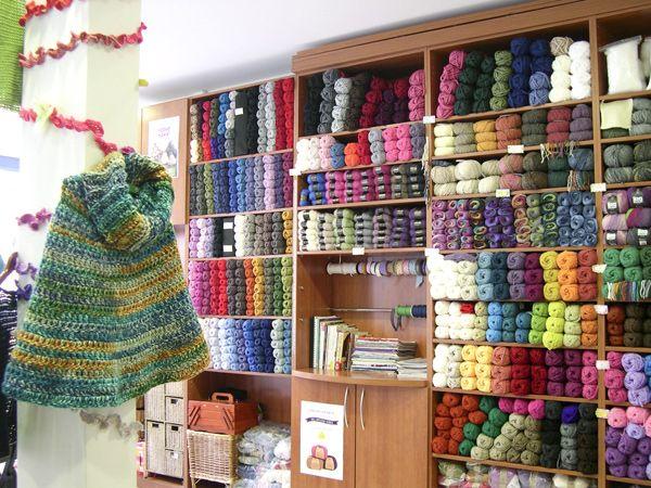 """DROPS Store """"Artecrochet"""" in Madrid, Spain"""